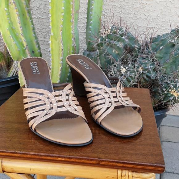 Franco Sarto Shoes - Tan Wedge by FRANCO SARTO